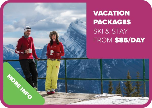 Vacation packages: Ski and Stay from $85 a day